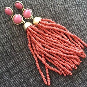 Lucky brand tassel earrings